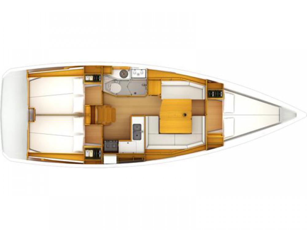 Noleggio barche Jeanneau Sun Odyssey 389 Kontokali su Samboat