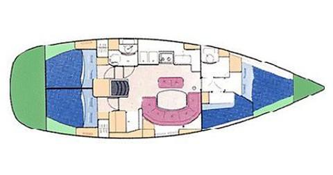 Noleggio Barca a vela a Palma de Maiorca – Bénéteau Oceanis 411