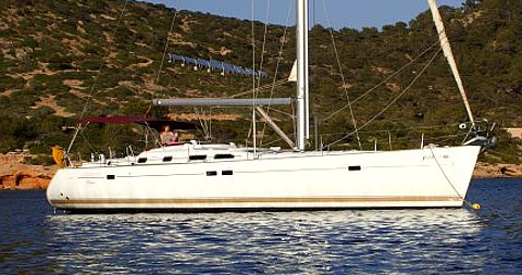 Noleggio barche Palma de Maiorca economico Oceanis 473