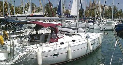 Bénéteau Oceanis 361 tra privati e professionisti a Palma de Maiorca
