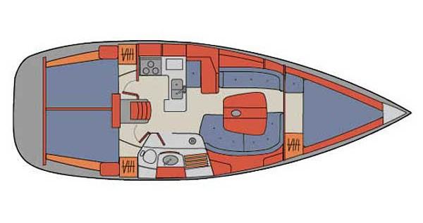 Noleggio yacht a Palma de Maiorca – Bénéteau Oceanis 361 su SamBoat