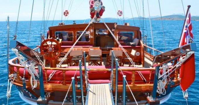 Noleggio Barca a vela a Bodrum –  Gulet Il Fratello