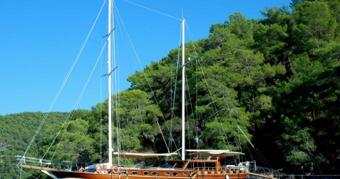 Noleggio Barca a vela a Bodrum –  Gulet Be Happy