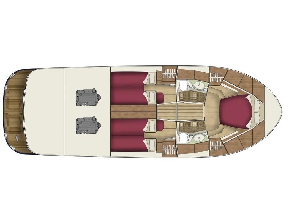 Noleggio barche Sas Vektor ADRIANA 44 BT (18) Općina Sukošan su Samboat