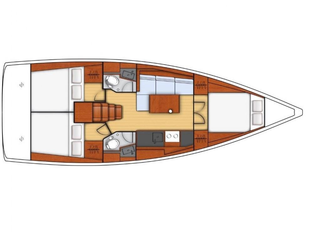 Noleggio barche Bénéteau OCEANIS 38.1 BT Sukošan su Samboat