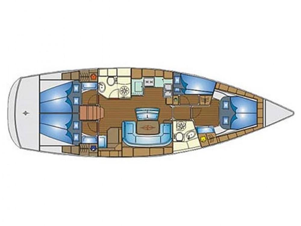 noleggio Barca a vela Scradin - Bavaria Bavaria 46 Cruiser Veritas edition