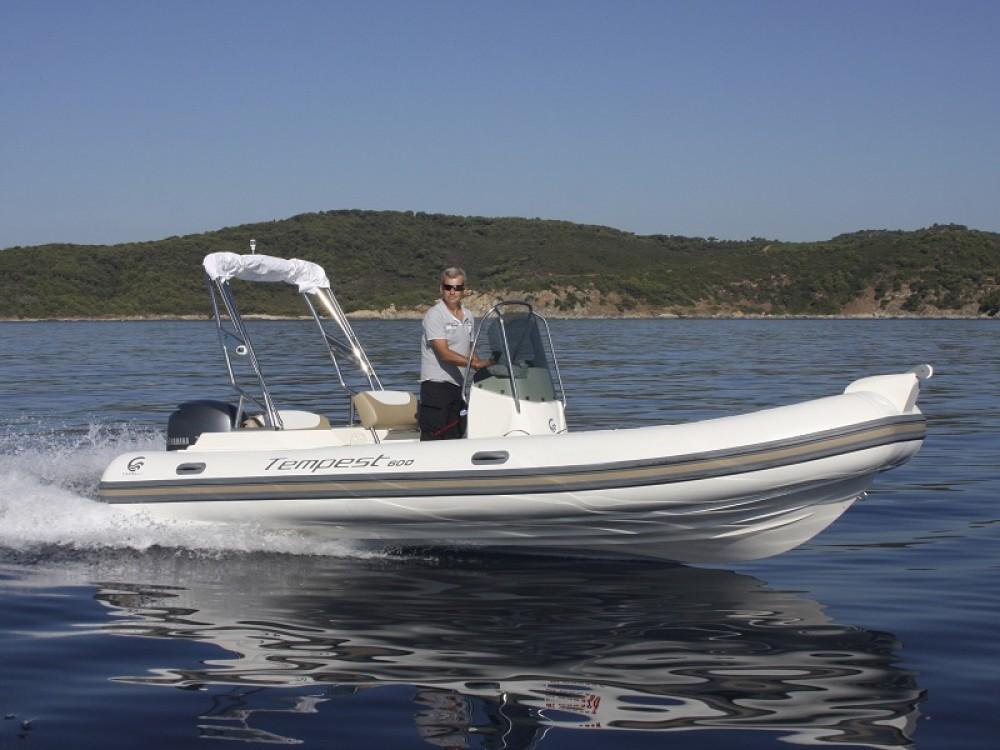 noleggio Barca a motore Sukošan - Cantiere TEMPEST 600 + Mercury 115