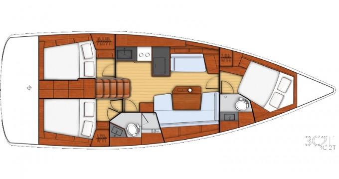 Noleggio barche Bénéteau Beneteau - Oceanis 41.1 a Atene su Samboat