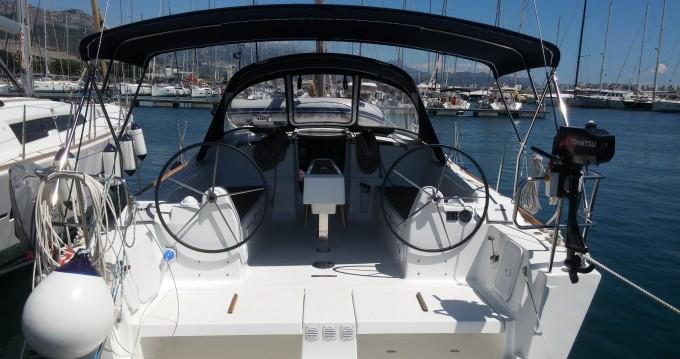 Noleggio barche Dufour Dufour 382 Grand Large a Kaštel Gomilica su Samboat