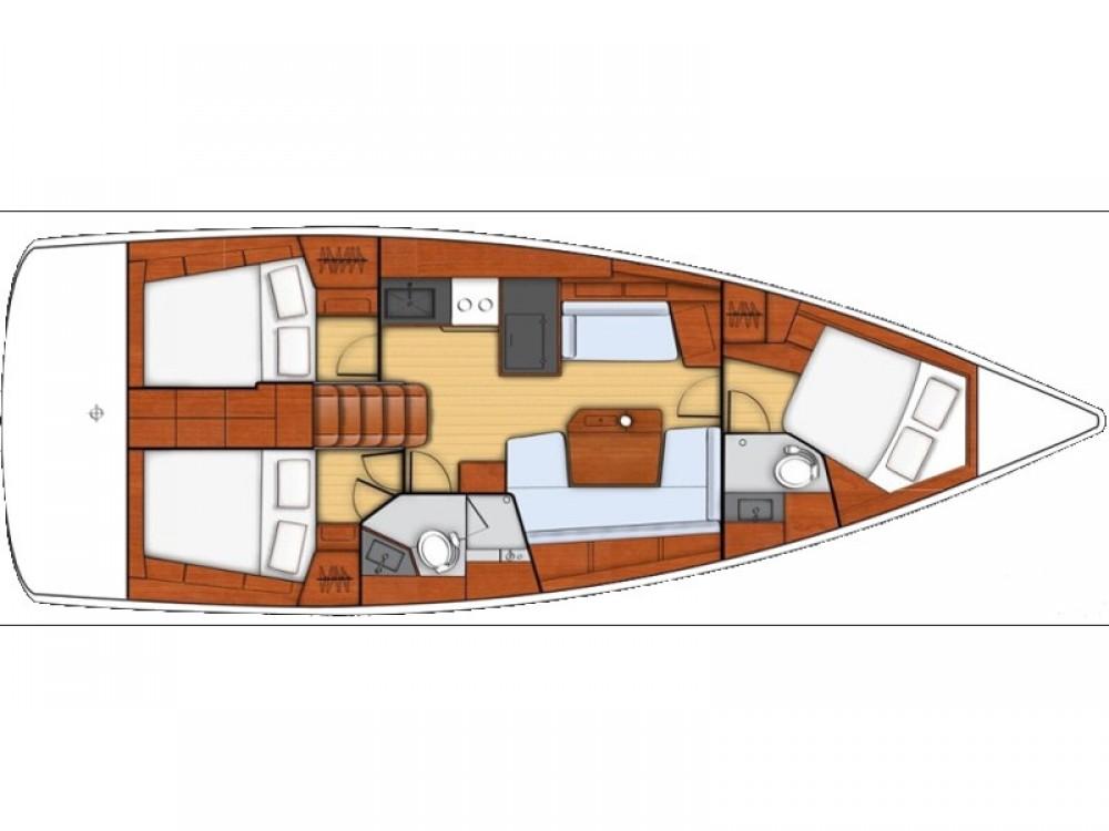 Barca a vela a noleggio Medolino al miglior prezzo