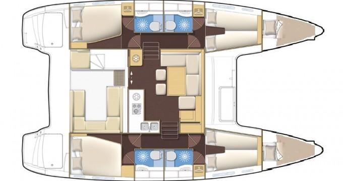 Noleggio barche Medulin economico Lagoon 400 S2
