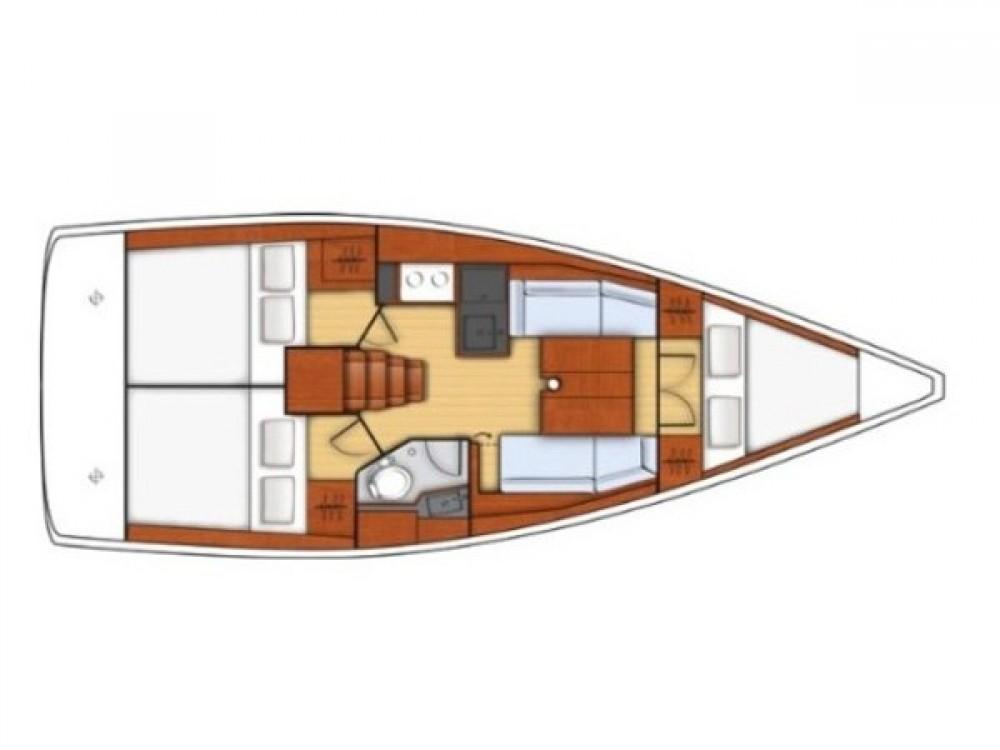 noleggio Barca a vela  - Bénéteau Oceanis 35.1