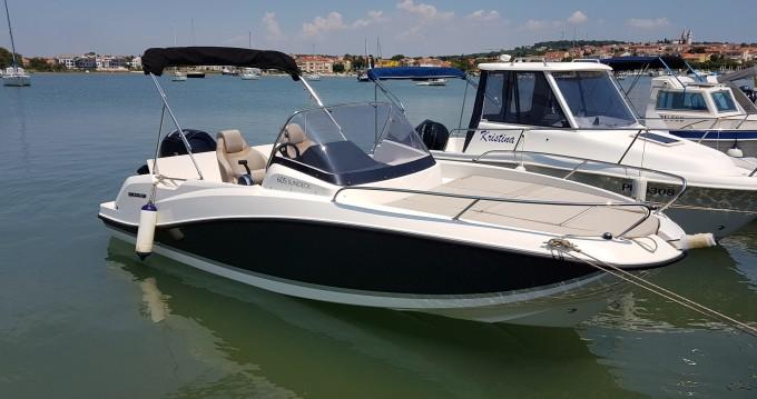 Barca a motore a noleggio a Medulin al miglior prezzo