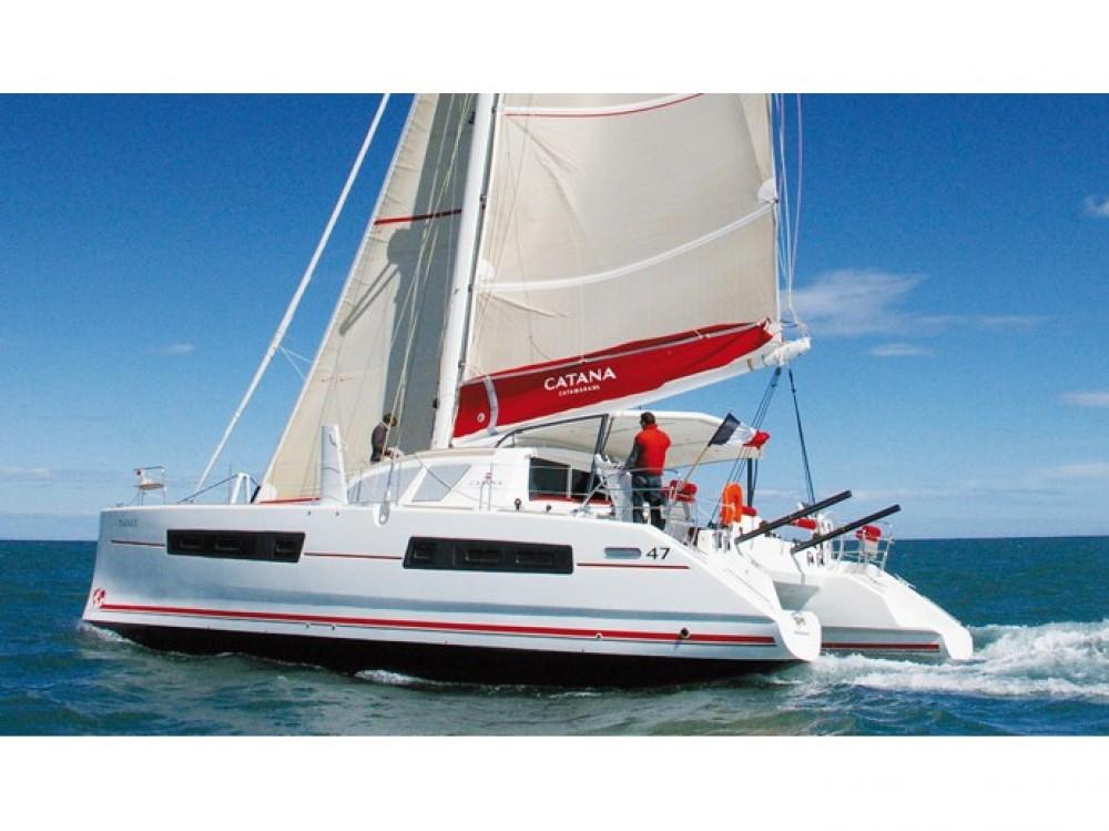 Noleggio Catamarano Catana con una patente