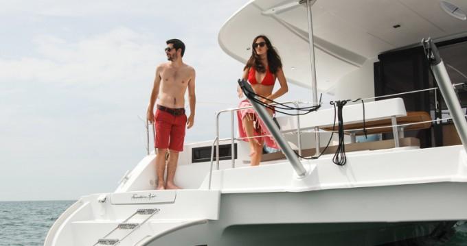 Noleggio barche Fountaine Pajot Lipari 41 Maestro evo a Marmaris su Samboat