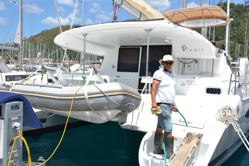 Noleggio barche Marmaris economico Lipari 41 Quatuor