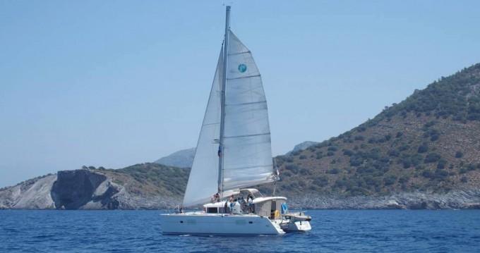 Noleggio barche Fethiye economico Lagoon 400