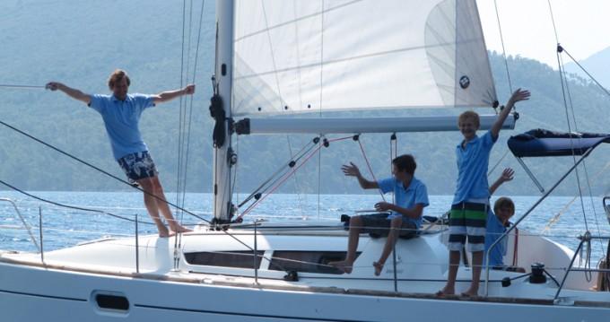 Noleggio Barca a vela con o senza skipper Jeanneau a Fethiye