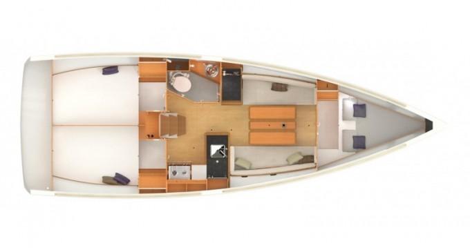 Noleggio barche Fethiye economico Sun Odyssey 349