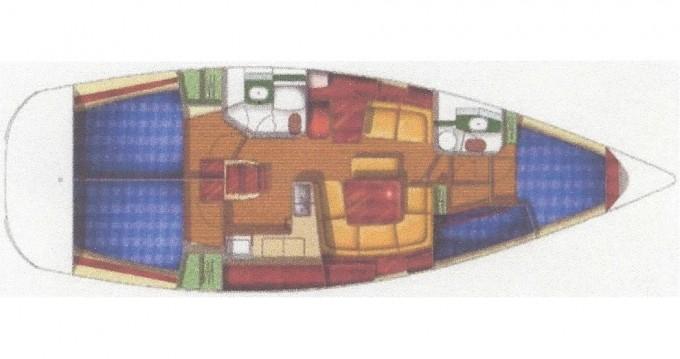 Noleggio barche Jeanneau Sun Odyssey 43 a Fethiye su Samboat