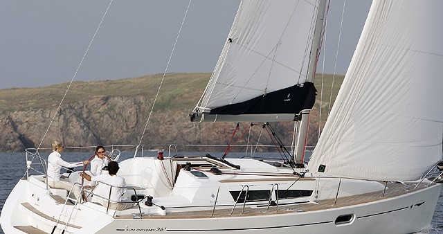 Noleggio barche Fethiye economico Sun Odyssey 36i