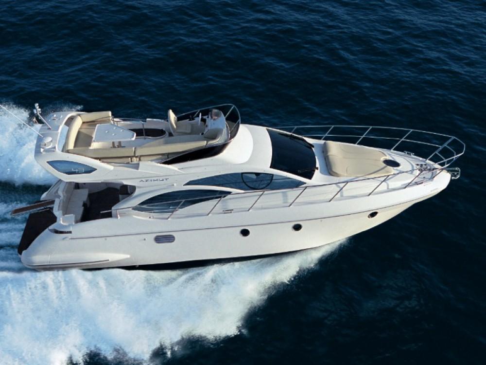 Noleggio Barca a motore Azimut con una patente