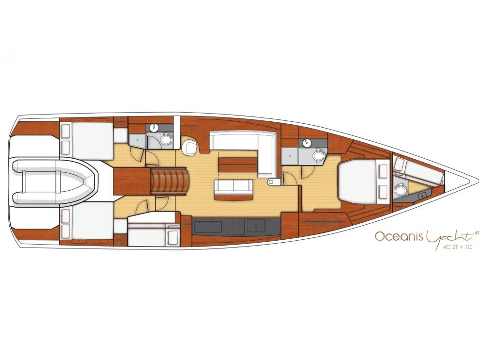 noleggio Barca a vela Olbia - Bénéteau Beneteau Oceanis 62