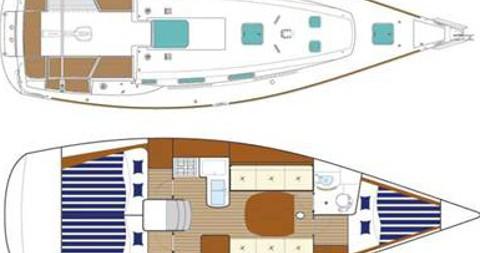 Noleggio Barca a vela a Nettuno – Bénéteau First 36.7