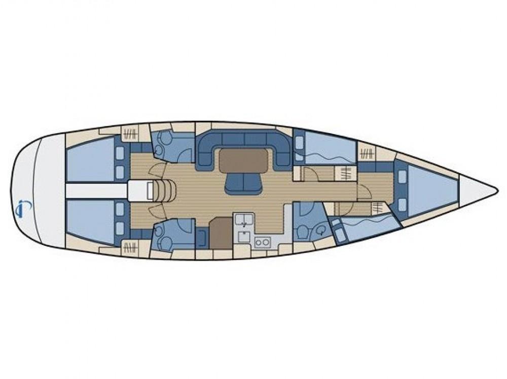 Bavaria Bavaria 50 Cruiser tra personale e professionale Traù