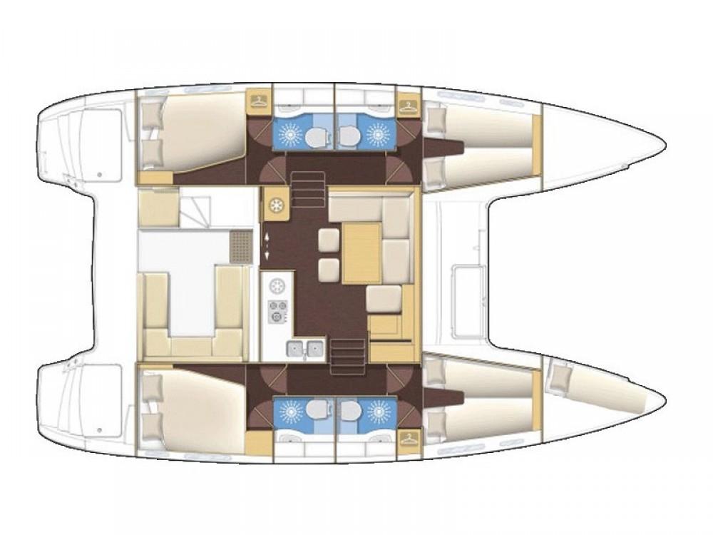 Noleggio barche ACI Marina Dubrovnik economico Lagoon 400 S2