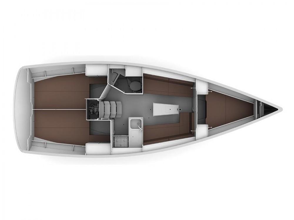 Bavaria Bavaria Cruiser 34 tra personale e professionale Traù