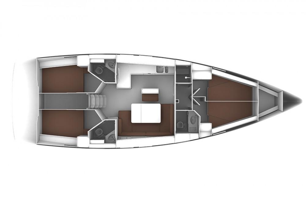 noleggio Barca a vela Dubrovnik - Bavaria Bavaria Cruiser 46
