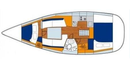 Noleggio barche Jeanneau Sun Odyssey 32i a Gouviá su Samboat