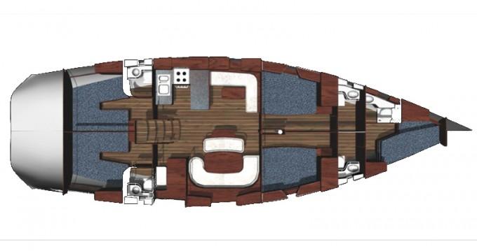 Noleggio Barca a vela a Atene – Ocean Ocean Star 56.1 - 5 cabins