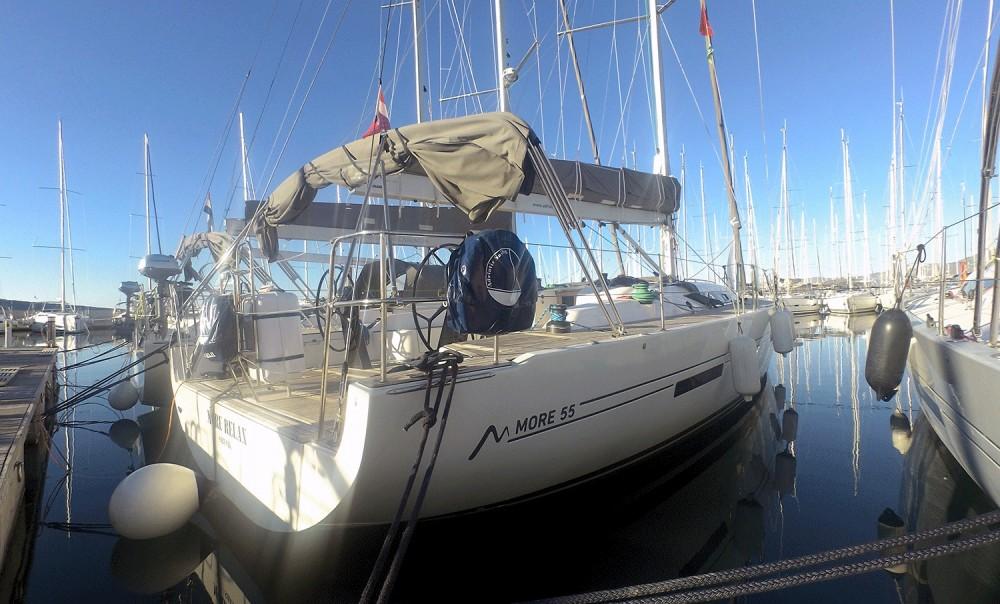 Noleggio Barca a vela More con una patente