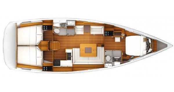 Jeanneau Sun Odyssey 449 owner version  tra privati e professionisti a Kaštel Gomilica