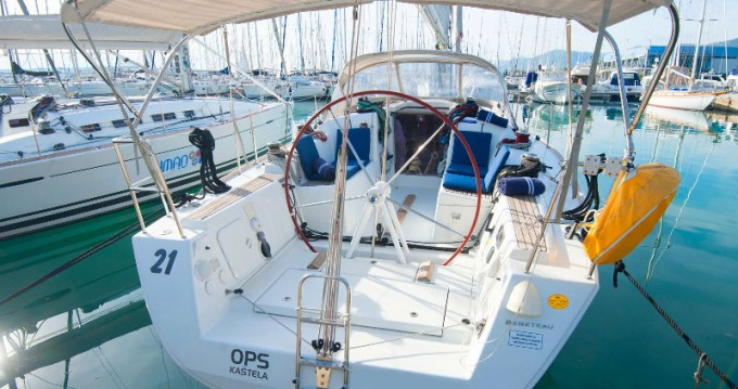 Noleggio Barca a vela con o senza skipper Bénéteau a Kaštel Gomilica