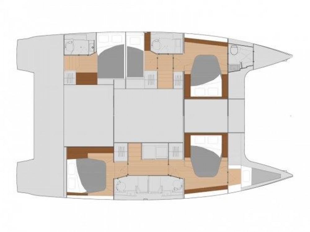 Noleggio yacht Castel Abadessa - Fountaine Pajot Fountaine Pajot Saona 47 su SamBoat