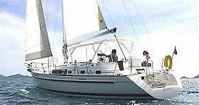 Bénéteau Oceanis 40 tra privati e professionisti a Skópelos