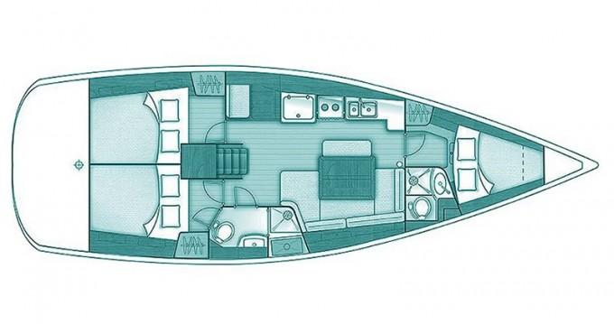 Noleggio barche Bénéteau Oceanis 40 a Skópelos su Samboat