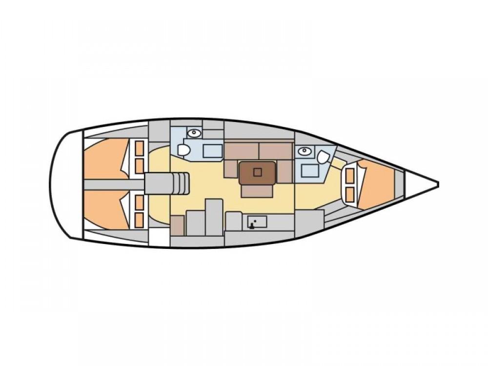 Noleggio Barca a vela con o senza skipper Dufour Kontokali
