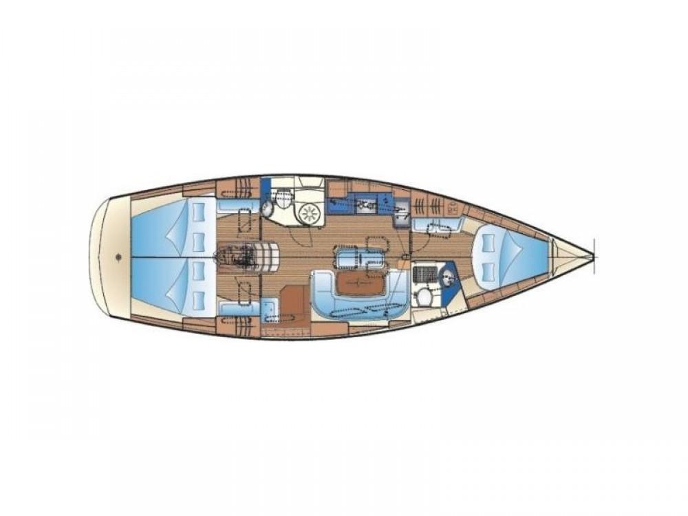 Noleggiare un'Bavaria Bavaria Cruiser 40 Kontokali
