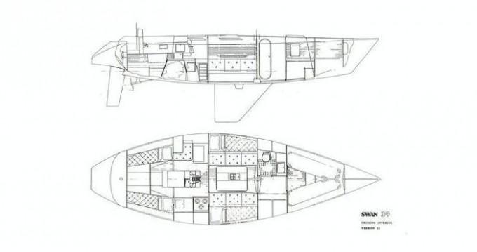 Noleggio barche Punta Ala economico Swan 39