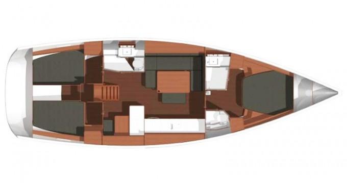 Noleggio Barca a vela a Kaštel Gomilica – Dufour Dufour 450 Owner version