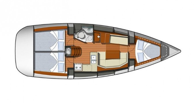 Noleggio yacht a Veruda – Jeanneau Sun Odyssey 36i su SamBoat