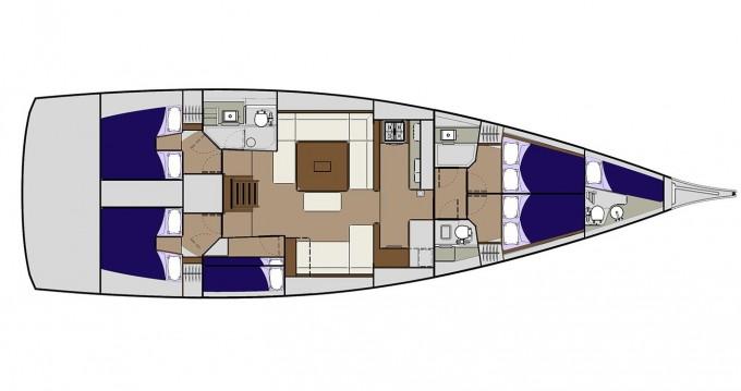 Noleggio yacht a Veruda – Dufour Dufour 560 su SamBoat
