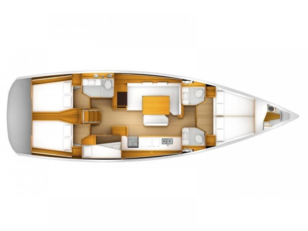 Noleggio yacht Castel Abadessa - Jeanneau Sun Odyssey 519 - 5+1cab. su SamBoat