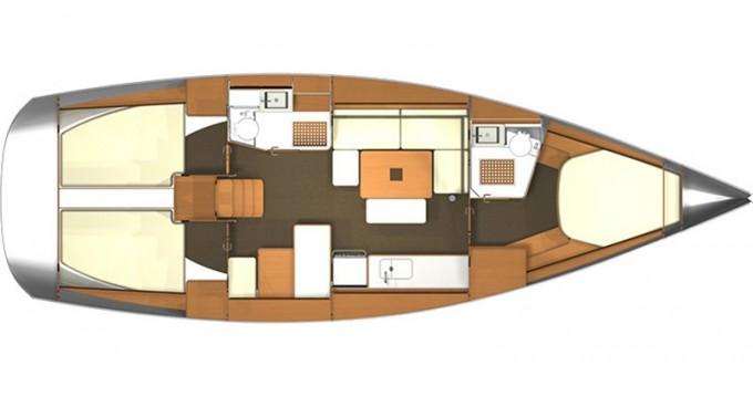Noleggio barche Kaštel Gomilica economico Dufour 405 RM
