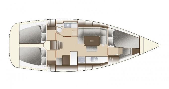 Noleggio barche Veruda economico Dufour 375