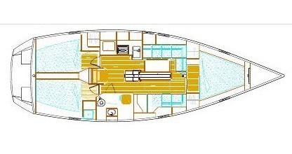 Noleggio barche Veruda economico Ovni 395